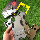 Hybrid TPU+PC Iron Man Armor Shield Case For All iPhone Models