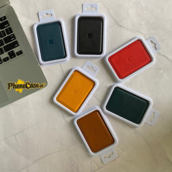 iPhone Official Leather wallet with MagSafe- in 6 Colors