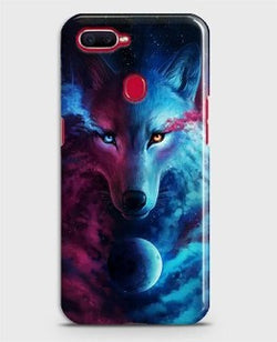 REALME 2 Pro Infinity Wolf 3D Trendy Case