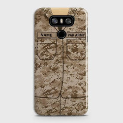 LG G6 Army Costume With Custom Name Case