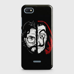 XIAOMI REDMI 6A MONEY HEIST PROFESSOR  Case