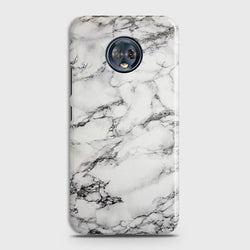 Motorola Moto G6 Plus Trendy White Marble  Case