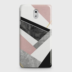 NOKIA 3 Geometric Luxe Marble Case