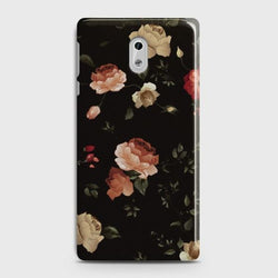 NOKIA 6 Dark Rose Vintage Flowers Case