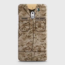 Nokia 2.1 Army Costume With Custom Name Case
