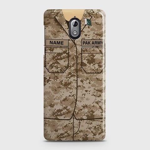 Nokia 3.1 Army Costume With Custom Name Case