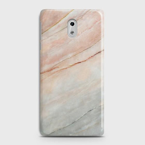 Nokia 6 Smoked Coral Marble Case