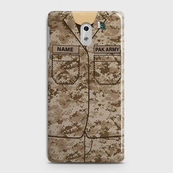 Nokia 6 Army Costume With Custom Name Case