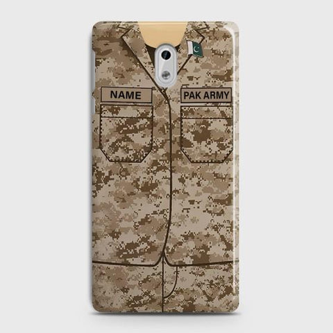 Nokia 3 Army Costume With Custom Name Case