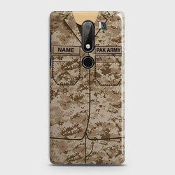Nokia 7.1 Army Costume With Custom Name Case
