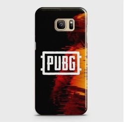 SAMSUNG GALAXY S7 Edge PUBG Multicolor Case