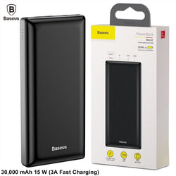 30000 mAh Original Baseus Fast 3.0 Charger Power Bank PPJAN-C01