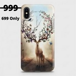 IPHONE XS MAX Blessed Deer Case
