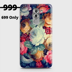 HUAWEI HONOR 6X Vintage Colorful Flowers Case