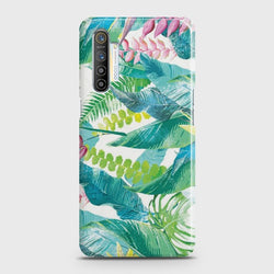 REALME XT Retro Palm Leaves Case