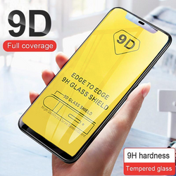 iPhone 9D Full Covered Tempered Glass all Models