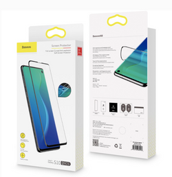Galaxy S10 & S10 Plus Baseus Pack of 2pcs 0.15mm Protective Film Screen Protector Full Coverage Soft Film