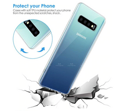 S10 & S10 Plus Transparent soft shock proof Case
