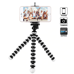 Octopus Flexible Tripod Stand Gorillapod for Phone, Camera, DSLR, Go Pro