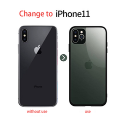 iPhone Second Change Convert any iPhone model to iPhone 11 Pro 2019 Glass Case