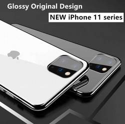 iPhone 11 Series Premium Glass Back Tempered Glass Case