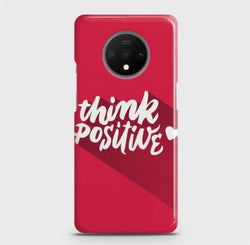 ONEPLUS 7T Think Positive Case