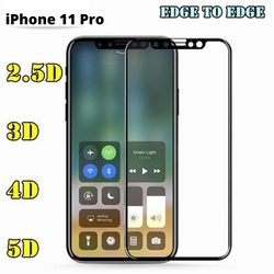 iPhone 11 Pro TEMPERED GLASS PROTECTOR in 2.5D, 3D, 4D, 5D