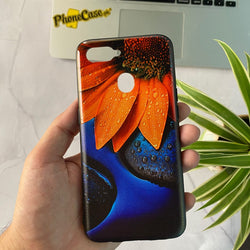 Oppo A5s - Carbon Fiber Feel Printed Case D05