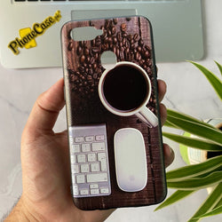 Oppo A5s - Carbon Fiber Feel Printed Case D01