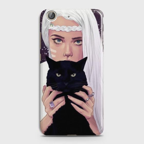 Huawei Y6II Wild Black Cat Phone Case