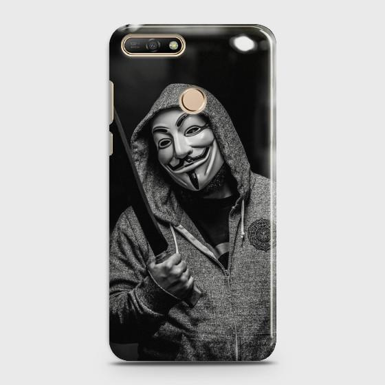 Huawei Y7 Prro 2018 Anonymous Joker Phone Case