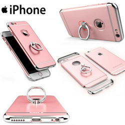Aluminum Metal Ring Holder Stand Phone Case For All iPhone - Phonecase.PK