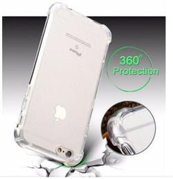 Anti Knock Transparent Crystal Clear Case for All iPhone Models - Phonecase.PK