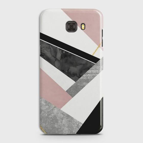 Samsung Galaxy C5 Luxury Marble design Case