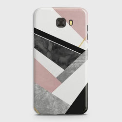 Samsung Galaxy C7 Luxury Marble design Case