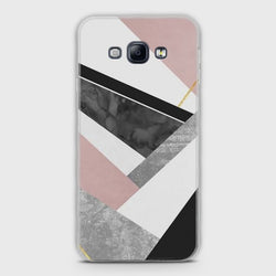 SAMSUNG GALAXY A8 Geometric Luxe Marble Case