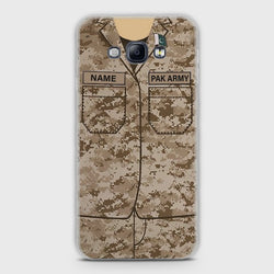 SAMSUNG GALAXY A8 Army Costume With Custom Name Case