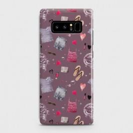 GALAXY NOTE 8 Casual Summer Fashion Design Case