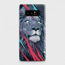 GALAXY NOTE 8 Abstract Animated Lion Case