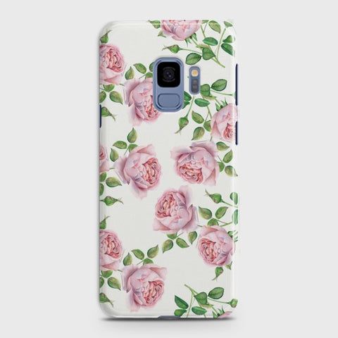 SAMSUNG GALAXY S9 Pink Flower Pattren Case