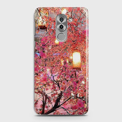 HUAWEI HONOR 6X Pink blossoms Lanterns Case
