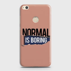 HUAWEI HONOR 8 LITE Normal Is Boring Case