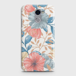 HUAWEI Y7 PRIME Seamless Flower Case