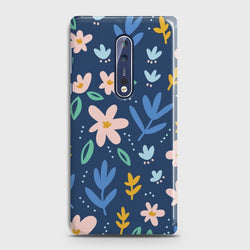 Nokia 8 Colorful Flowers Case