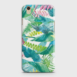 OPPO A37 Retro Palm Leaves Case