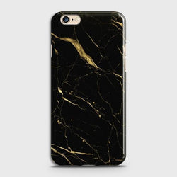 OPPO A57 Classic Golden Black Marble Case