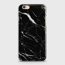 OPPO A57 Trendy Black Marble Case