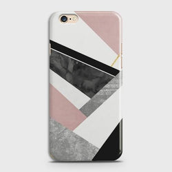 OPPO A57 Geometric Luxe Marble Case