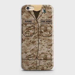 OPPO A57 Army Costume With Custom Name Case
