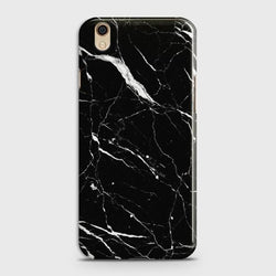 Oppo F1 Plus Trendy Black Marble Case